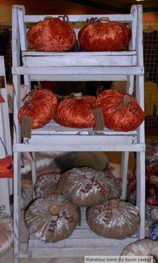 Velvet Pumpkins by Karen Lackey