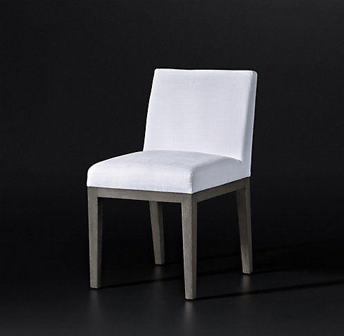 Morgan Track Arm Fabric Chair Collection   RH Modern