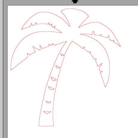 Fichier sst palmier pour silhouette studio fichier - Palmier dessin ...