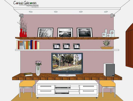 Móvel sala tv   Flickr – Compartilhamento de fotos!