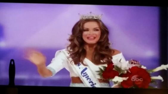 The new Miss America, Miss Georgia