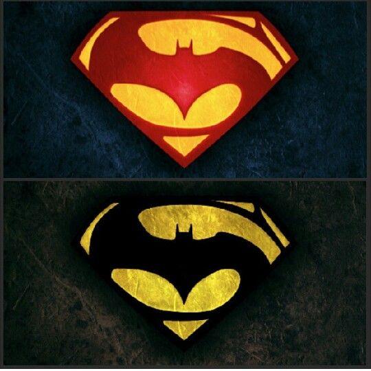 supermanbatman logo batman