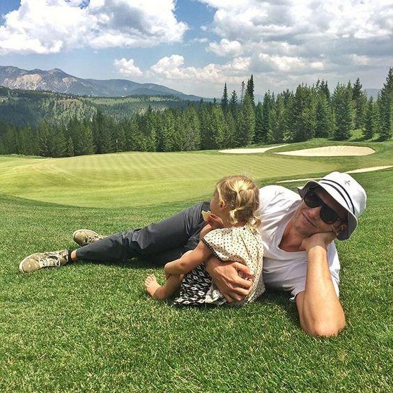 Gisele Bündchen's Golf Course Cuties - http://site.celebritybabyscoop.com/cbs/2015/07/13/gisele-bundchens-course #GiseleBundchen, #Golf, #GolfCourse, #TomBrady, #VivianBrady