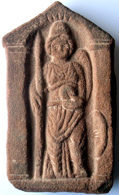 celtic goddess Brigantia | Carving of Celtic Goddess, Brigantia (influenced by Roman goddess ...
