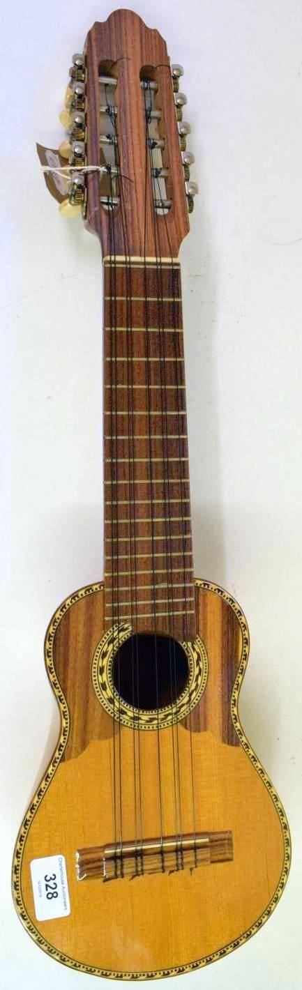 Semi professional charango ukulele corner