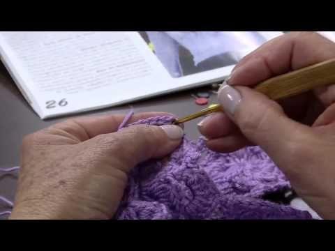 Mulher com 19 08 2014   Blusa Croche Flor Vitrine por Claudia Maria   Parte 2