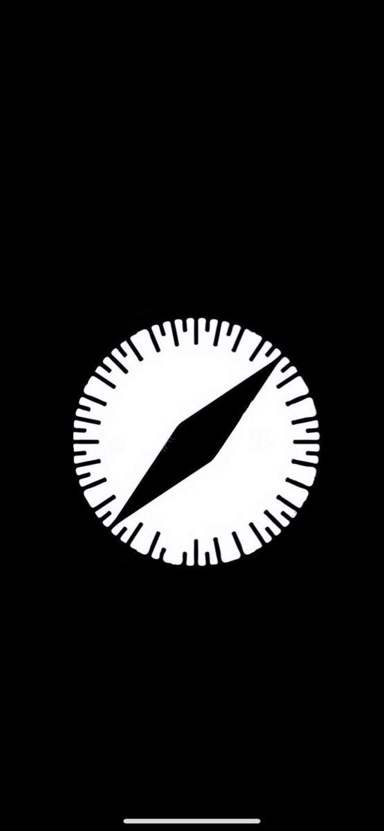 Safari App Icon Iphone Black App Icon Design