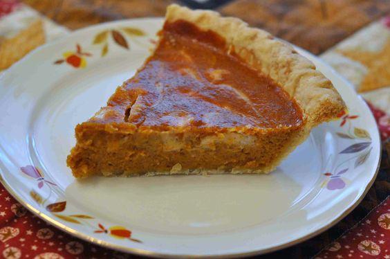 Honey Punkin Cream Cheese Pie