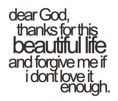 Dear God, Thanks!