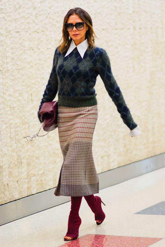 Пуловери с ромбове – старомодни или вечна класика? – eModno