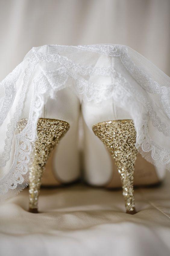 Kate Spade Wedding Shoes: Fantastic Shoes, Gold Weddings, Girl, Sparkly Wedding Shoes, Gold Heels, Bride Shoes, Dream Wedding, Glitter Heels