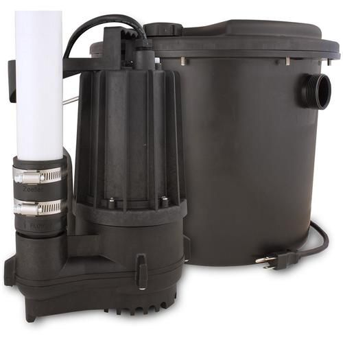 Zoeller0 33 Hpthermoplastic Submersible Sump Pump In 2020 Submersible Sump Pump Sump Pump Sump