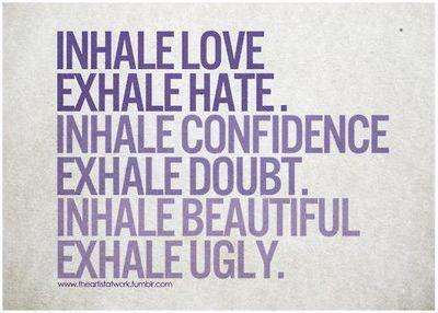 Hot Yoga ♥ Breathe deep!