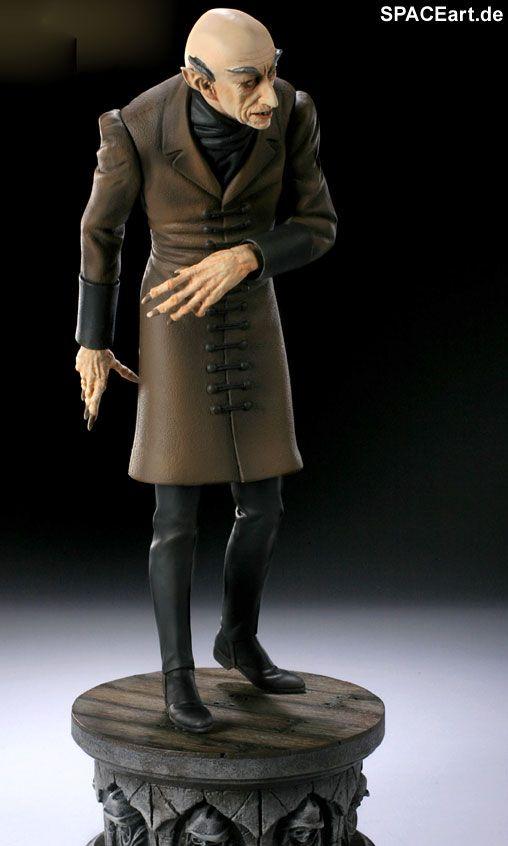 Nosferatu: Nosferatu Statue (Max Schreck), Fertig-Modell, http://spaceart.de/produkte/nsf001.php