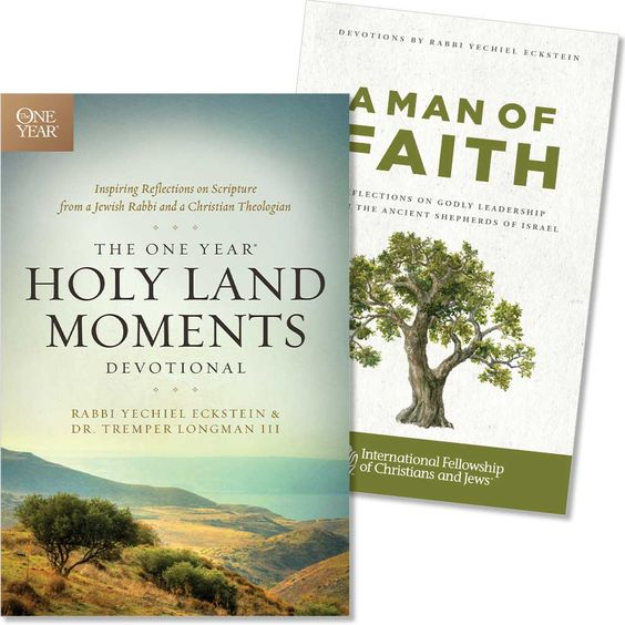 The One Year® Holy Land Moments Devotional with Bonus: A Man of Faith