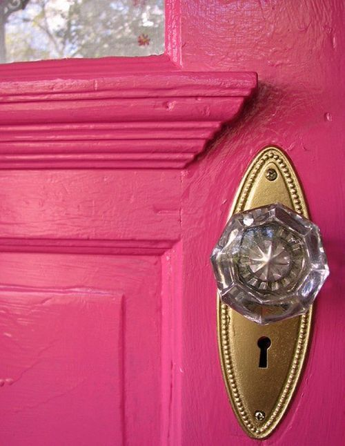 Pink Front Door (pink,door,front)