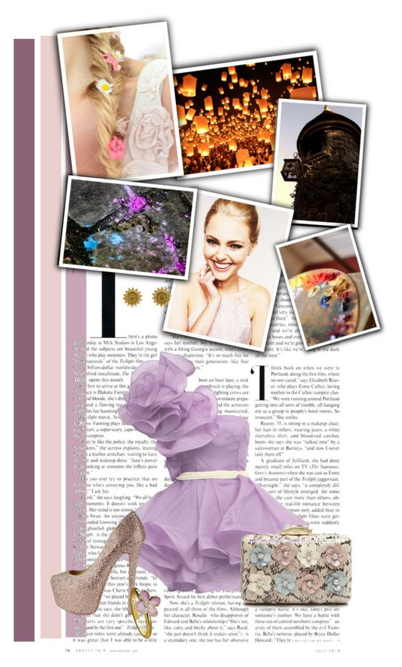 """""""Rapunzel"""" by srta-sr ❤ liked on Polyvore featuring KOTUR, Bielka and Virtue London"""