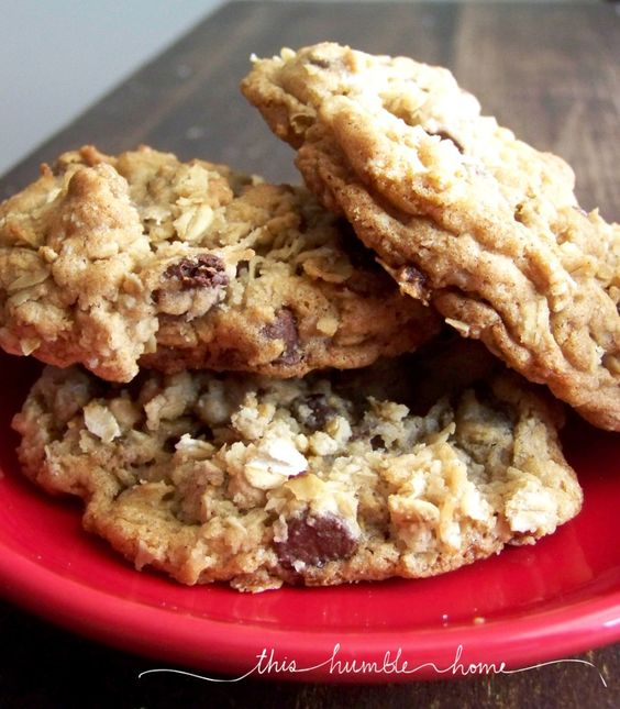 Cowboy cookies...chocolate chips, coconut, oatmeal && pecans