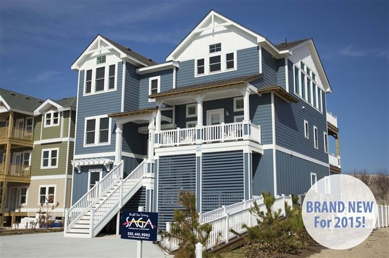 Outer banks vacation rentals rental homes and vacation for Beach house plans outer banks