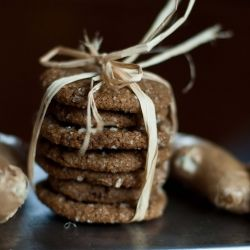 triple ginger ginger snaps - my fave holiday cookie
