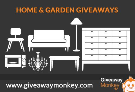 Delightful Home Garden And Furniture Giveaways In Giveaway Monkey Home Home  And Garden Home Giveaway