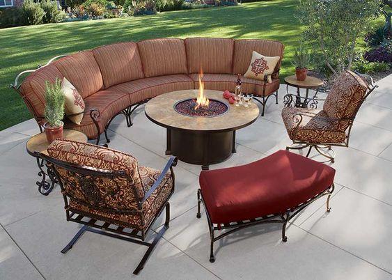Wrought Iron Steel Patio Furniture In Okc Edmond Outdoor Furniture Collections Outdoor Patio Furniture Outdoor Furniture Sets