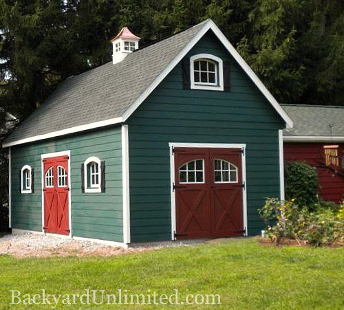 Sheds, Garage And Wood Windows On Pinterest