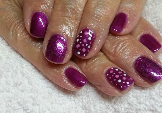 tango passion, glitter and dots