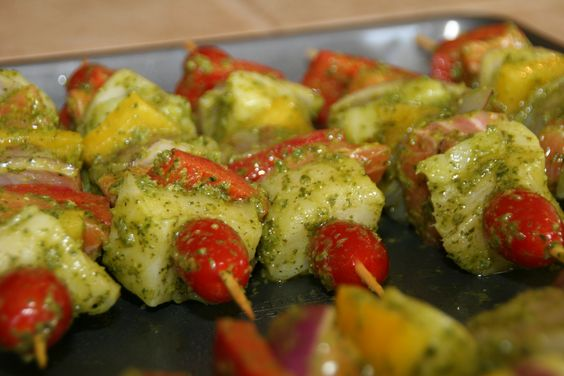 Seafood Kabobs  http://cookingwithmelody.com/all-recipes/main-courses/seafood/seafood-kabobs-entree/