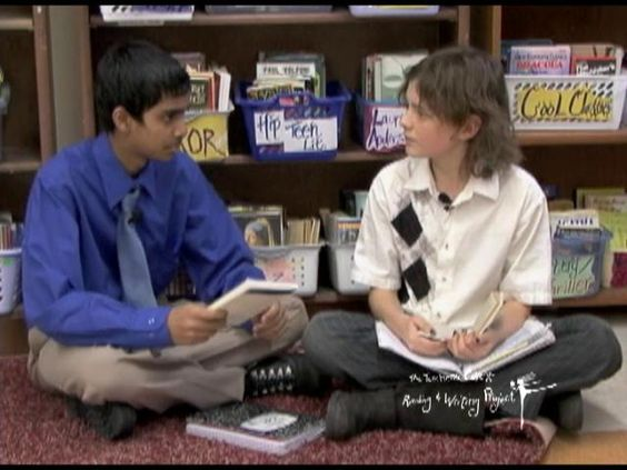 lucy calkins reading writing project Coding and analysis for a videotaped writing minilesson (taught by lucy calkins): reread your information text with an eye towa rds logical structure.