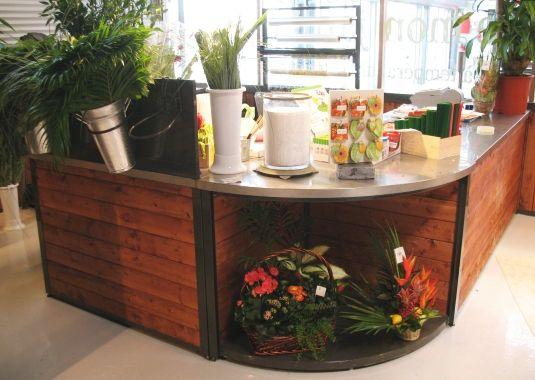 mobilier de magasin comptoir d 39 accueil banque d. Black Bedroom Furniture Sets. Home Design Ideas
