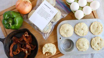 Breakfast Hand Pie - make ahead and freeze!