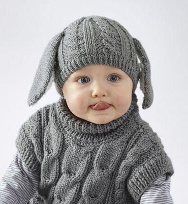 patron tricot bonnet bebe avec oreilles