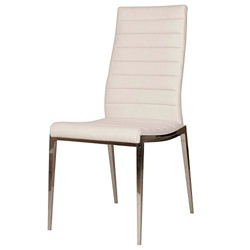 Zuri Furniture Triglav Synthetic Leather Dining Chair Set Of 2
