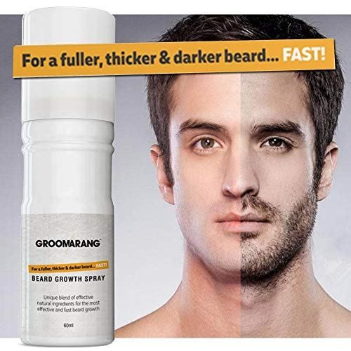 Icymi Groomarang Spray Croissance De La Barbe Epaississant Barbe Croissance
