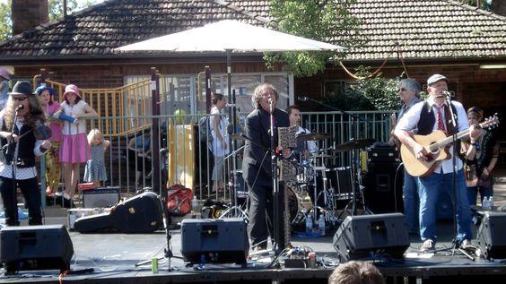 The Bushwackers #foundationday #bands