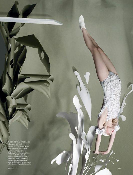 British Vogue Set design: Shona Heath Photography: Tim Walker