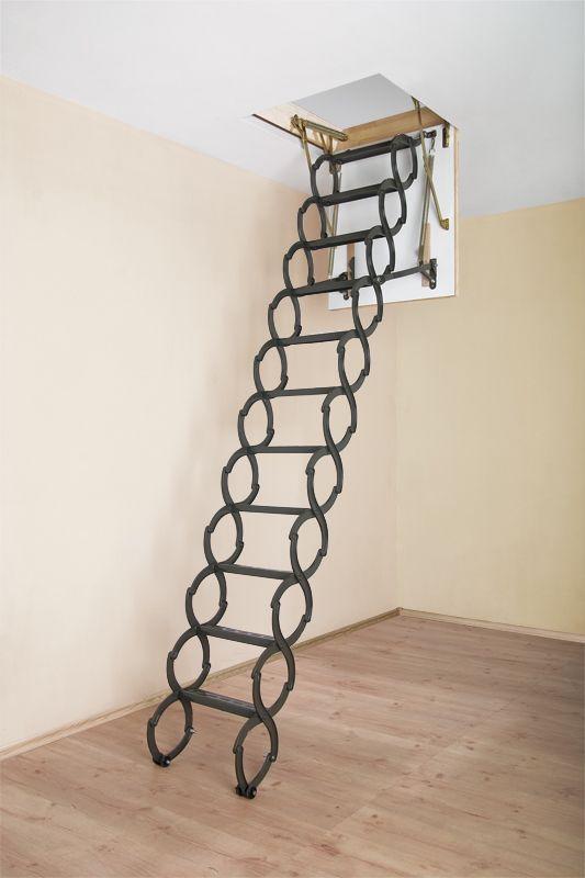 From Fakro Scissors Attic Ladder No Sharp Corners Or
