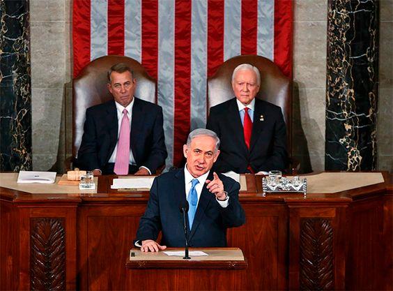 Netanyahu se dirige al Capitolio invitado por el Partido Republicano.
