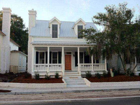 Cottages the o 39 jays and squares on pinterest for Beaufort sc architects