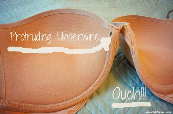 how to fix a bra.  Wish I had known about this many bras ago. Seriously brilliant! - Click image to find more DIY & Crafts Pinterest pins