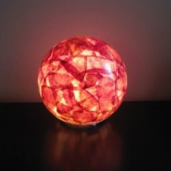 Globe Lamp- And other DIY crafts