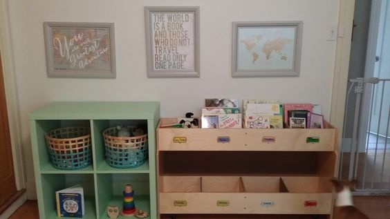 Part of Connor's nursery