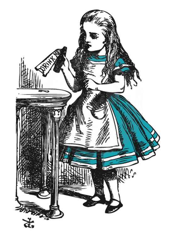 Themes in Alice's Adventures in Wonderland?