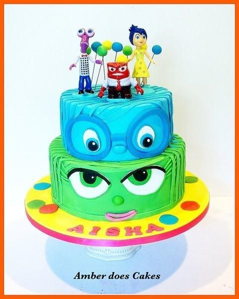 Inside out cake! - Cake by AmberDoesCakes