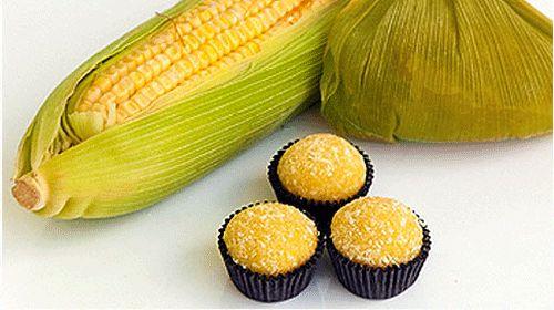 imagem de brigadeiro de milho verde