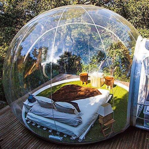 Glamping Is The Best Way To Travel While Social Distancing Luxury Camping Tents Bubble Tent Tent Glamping