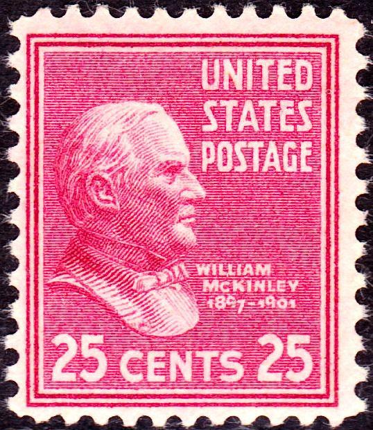 Resultado de imagem para selo de William McKinley