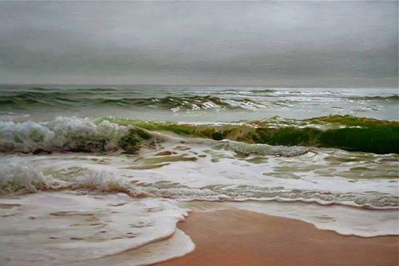 Matthew Cornell. Pintura hiper realista