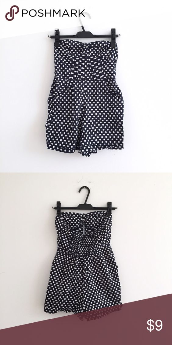Perfect Pin Up Romper 📌 Gorgeous polka dots romper is so flattering and has the perfect lovely retro feel to it. Pins & Needles Other